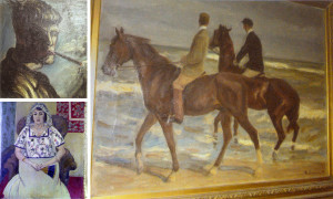 Recovered plundered art